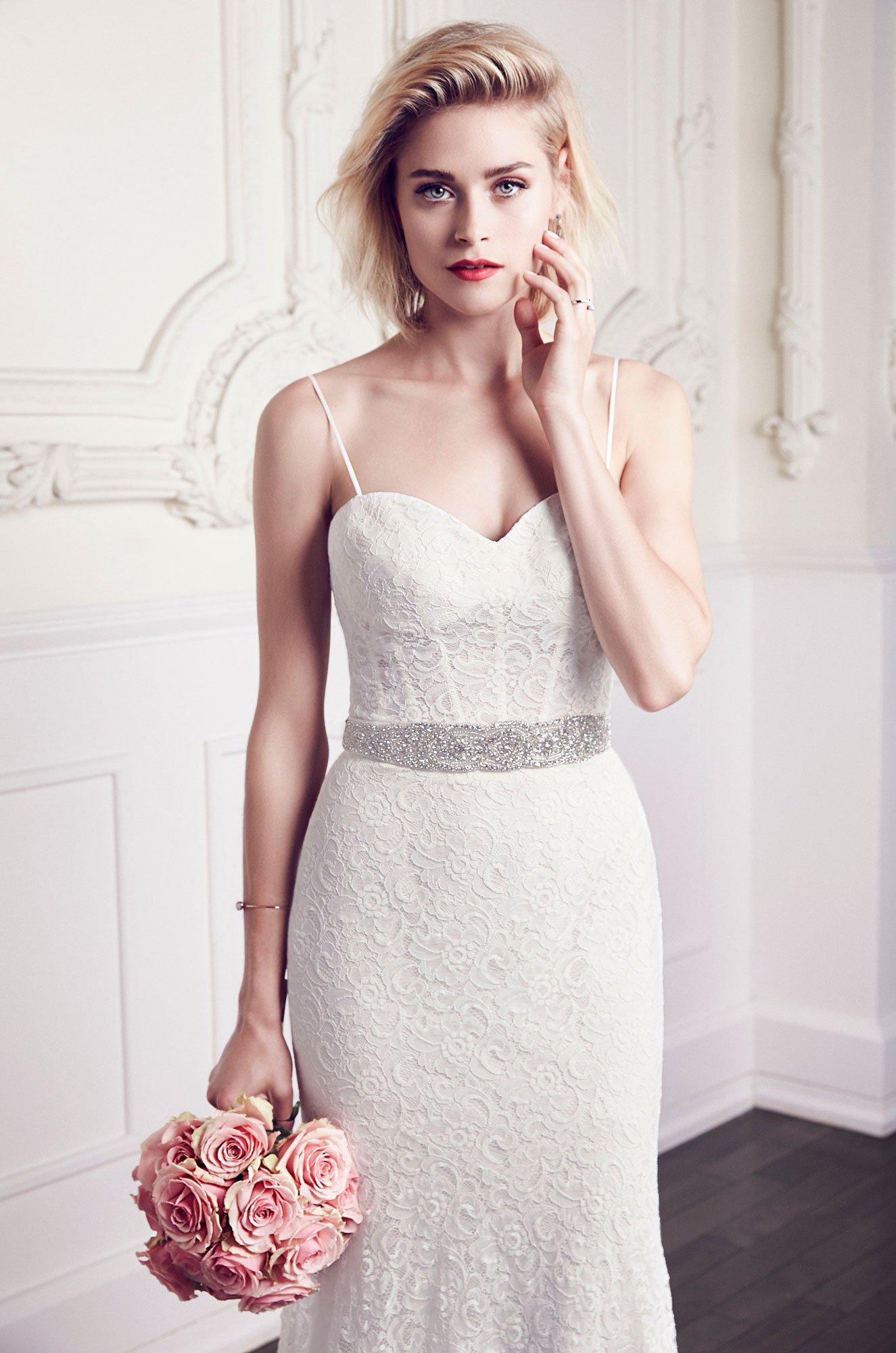 Corset Lace Wedding Dress - Style #1952 | Mikaella Bridal