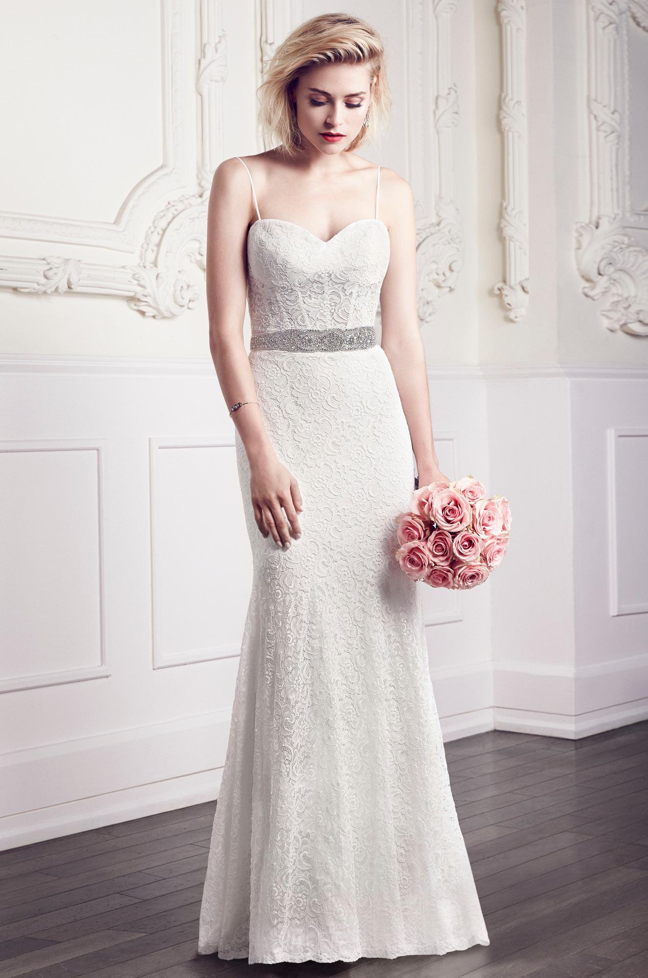 Corset Lace Wedding Dress Style 1952 Mikaella Bridal - Corset For Under Wedding Dress
