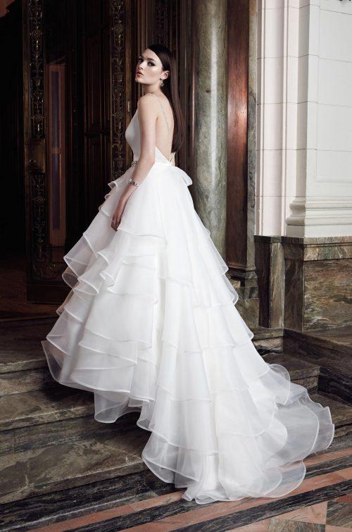 Layered Ball Gown Wedding Dress - Style #2006   Mikaella Bridal