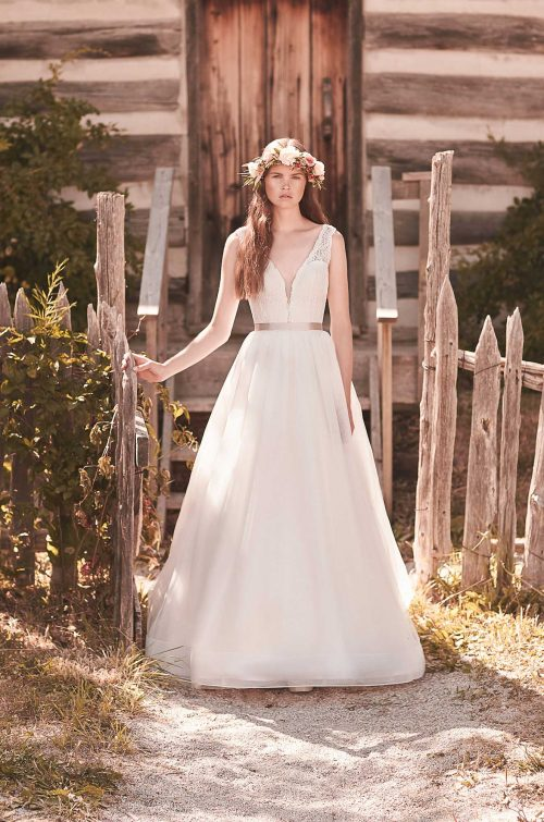 Romantic Tulle Wedding Dress - Style #2063 | Mikaella Bridal