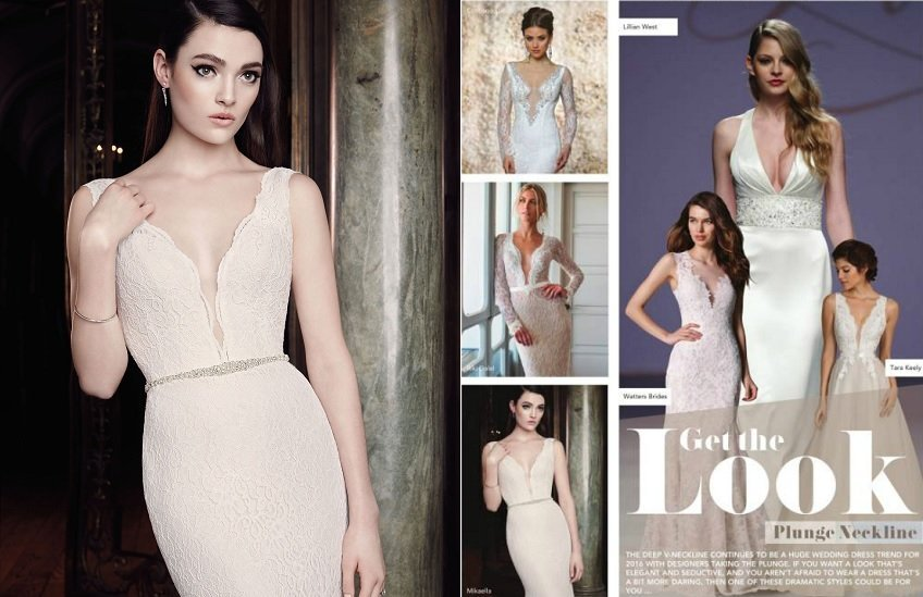 3 Mikaella wedding dress Style 2016 Irelands Wedding Journal Winter Edition