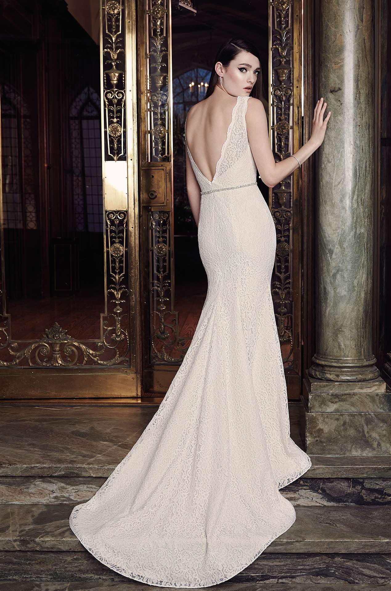 Lace Wedding Dress Style 2016 Mikaella Bridal