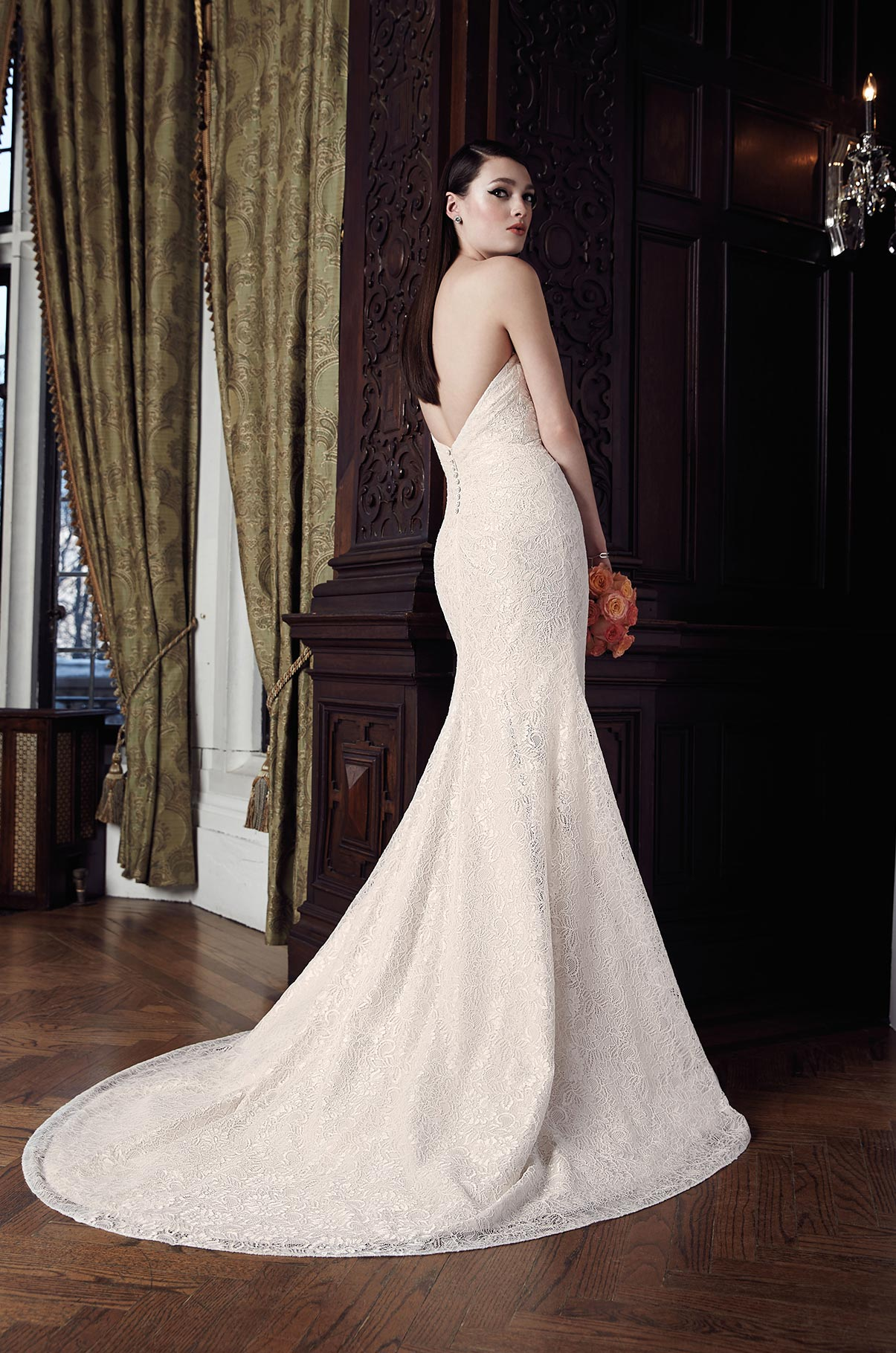 Lace Wedding Dress - Style #2017 | Mikaella Bridal