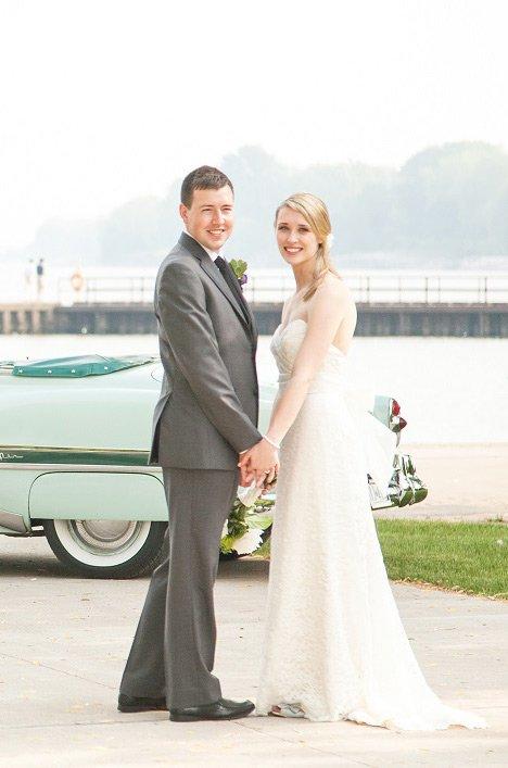 Real Bride Oakville Ontario Amyand Jason