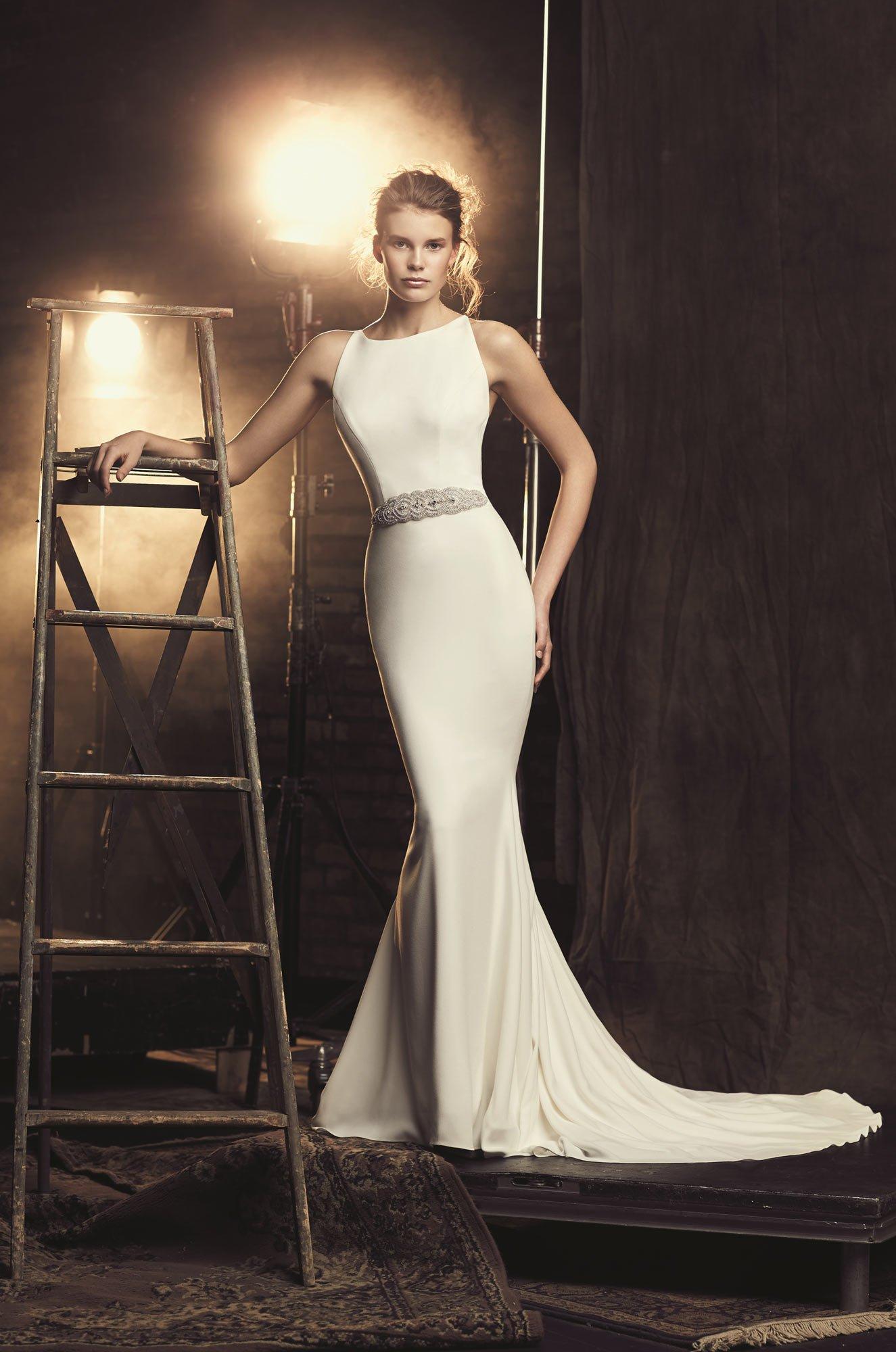 Fitted Cr 234 Pe Wedding Dress Style 2090 Mikaella Bridal