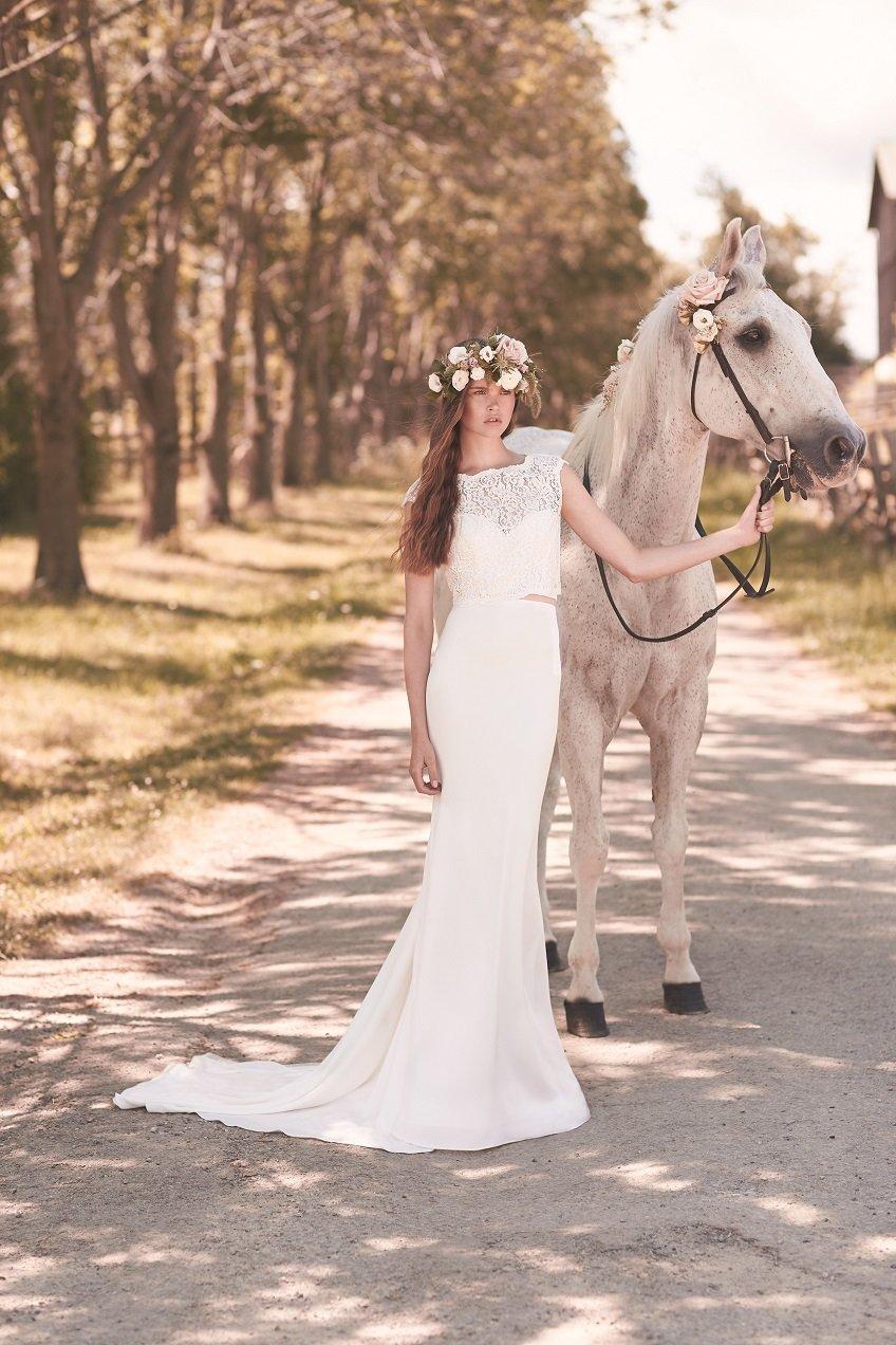 Style 2053 front Mikaella wedding dress