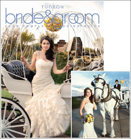 Tucson Bride and Groom Photo Shoot Featuring Mikaella Bridal