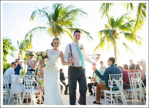 Renaissance island wedding