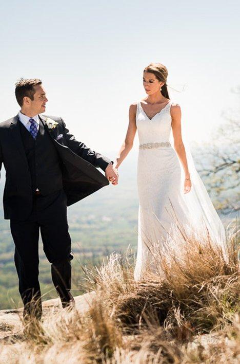 real bride wedding in south Carolina