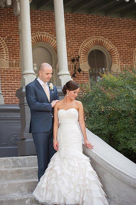 Real bride wedding