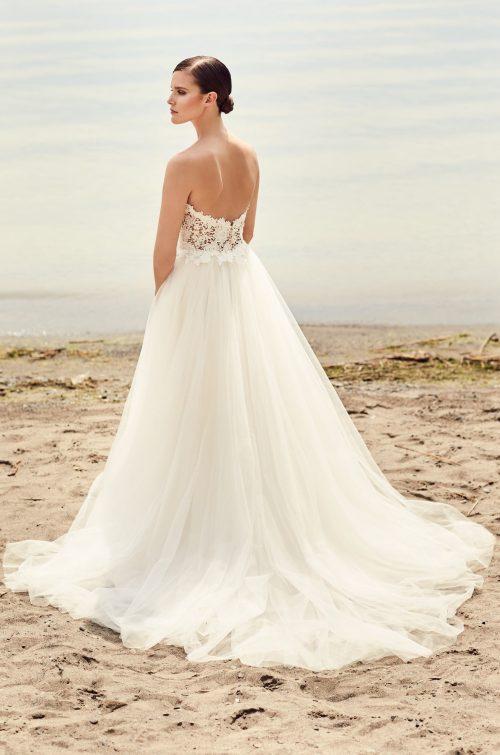 Plunging Sweetheart Wedding Dress - Style #2110 | Mikaella Bridal