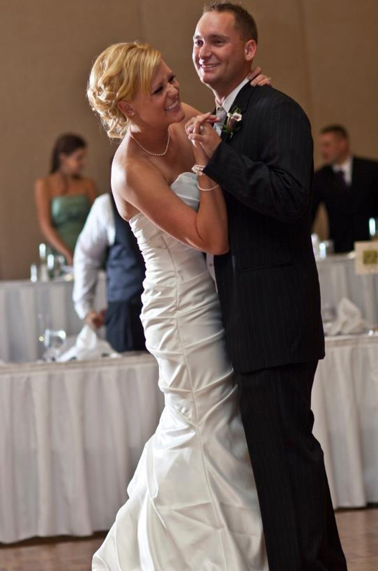 Real Bride Columbus, Ohio - Jillian & Nick | Mikaella Bridal
