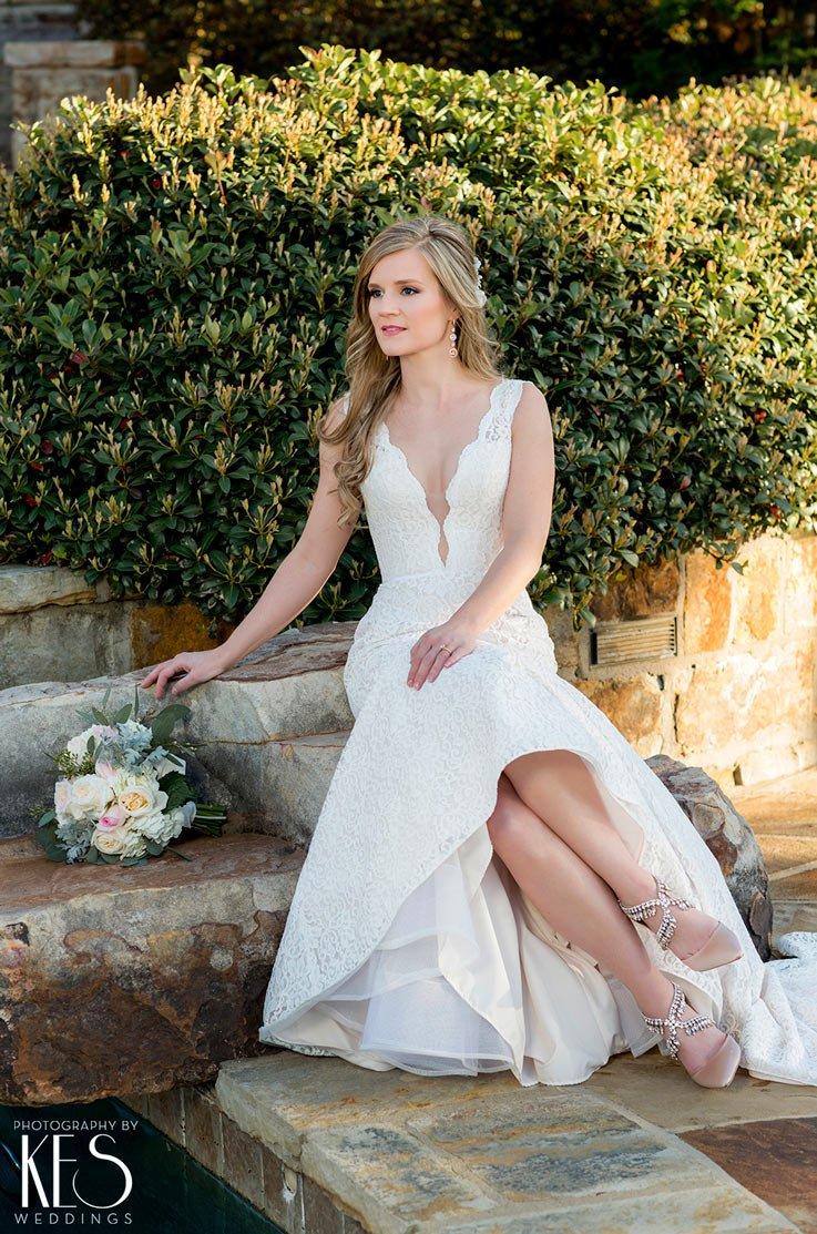 Real Bride Little Rock, AR - Natasha & John   Mikaella Bridal