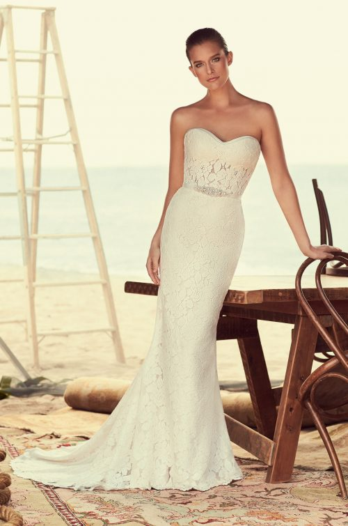 Modified Sweetheart Wedding Dress - Style #2182 | Mikaella Bridal