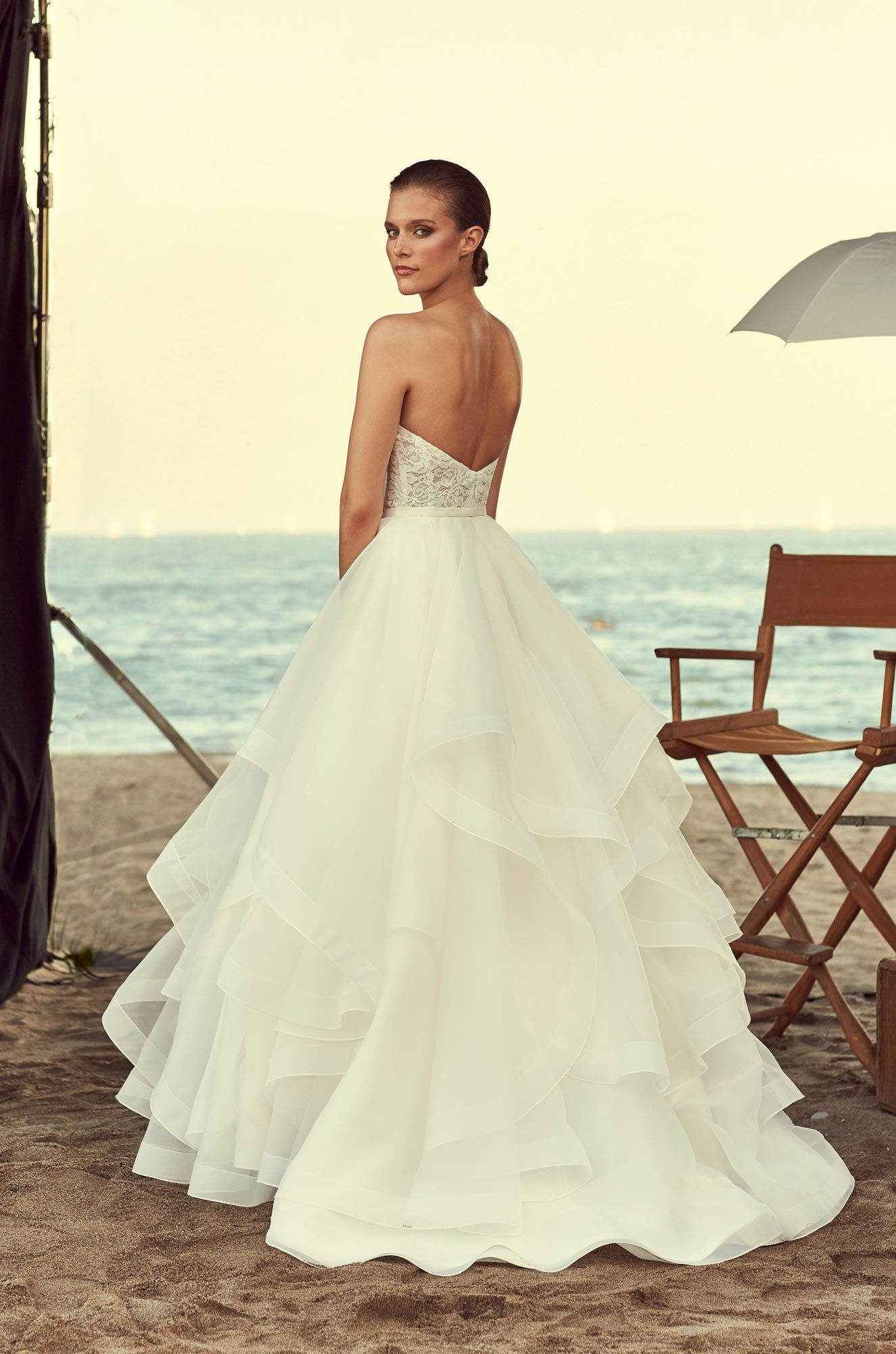 Strapless corset wedding dress style 2192 mikaella bridal junglespirit Gallery