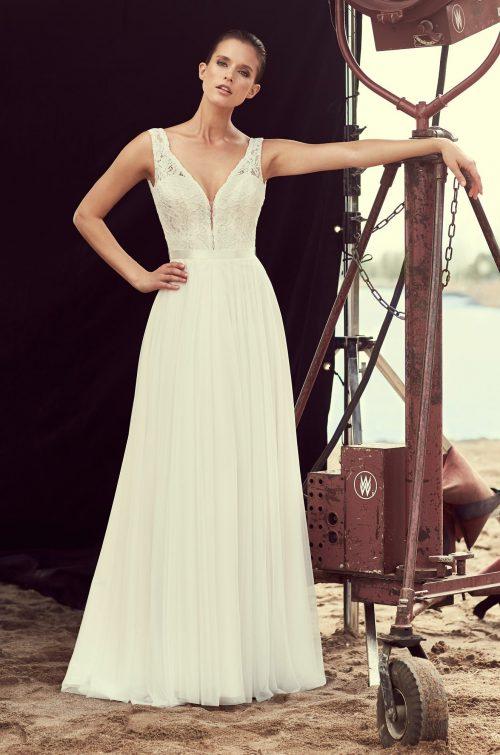 Strapless Corset Wedding Dress - Style #2193 | Mikaella Bridal