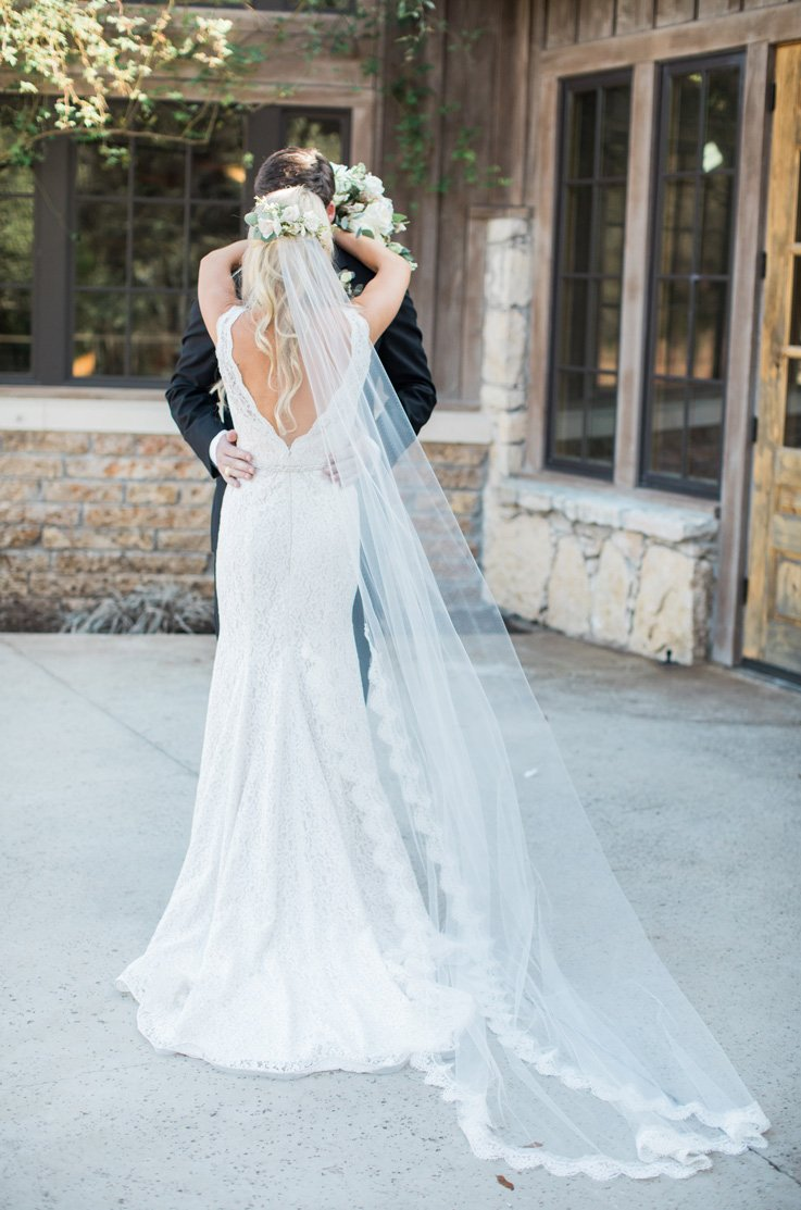 Real Bride Camp Lucy - Hannah & Brice | Mikaella Bridal
