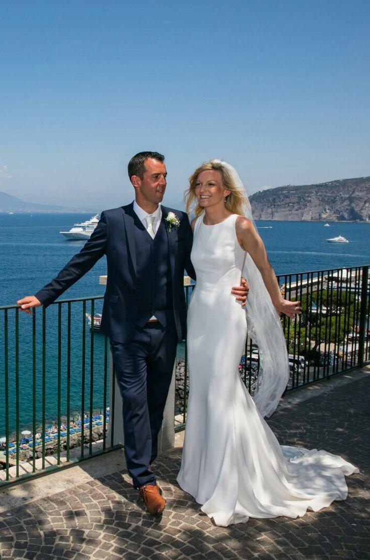 Real Bride Sorrento, Italy - Lydia & Olly | Mikaella Bridal