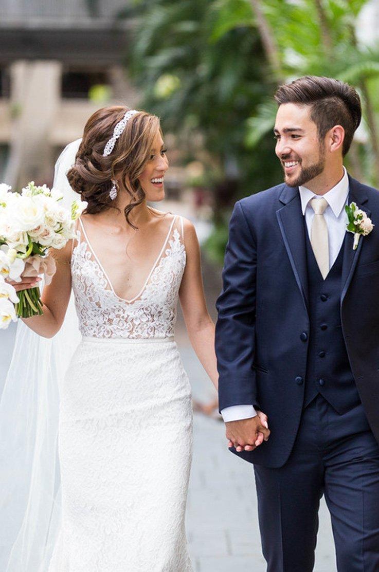 real bride cafe julia melissa chad mikaella bridal