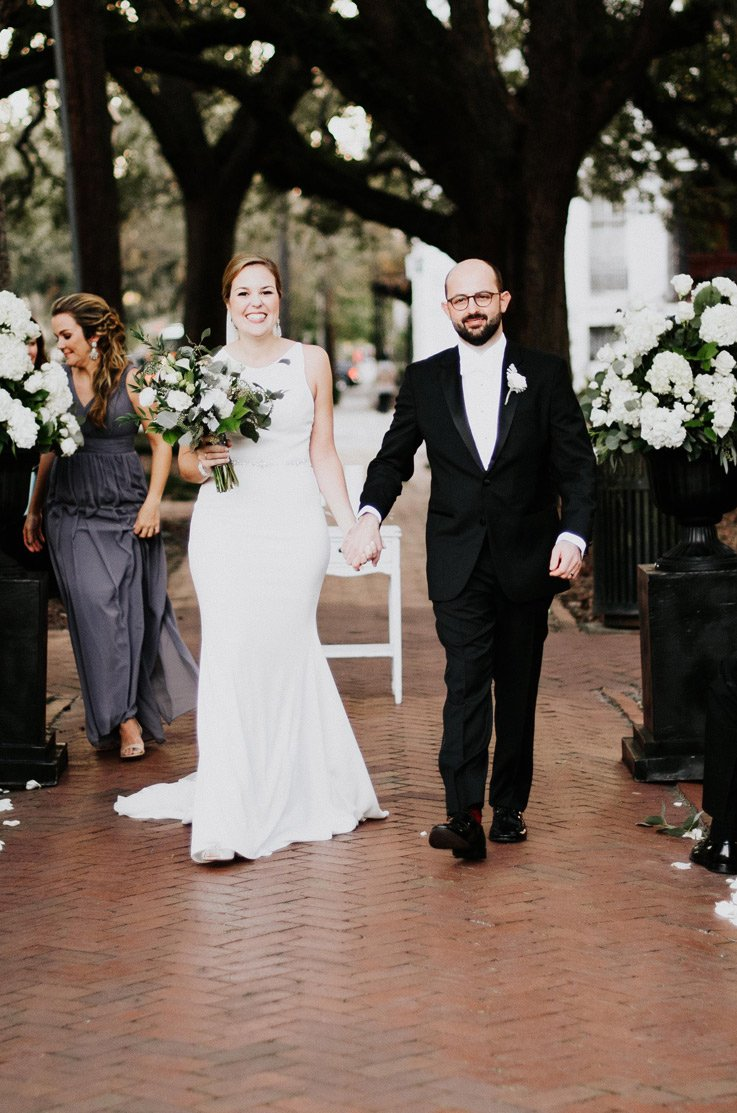 Real Bride Savannah, GA - Amanda & Stephen | Mikaella Bridal
