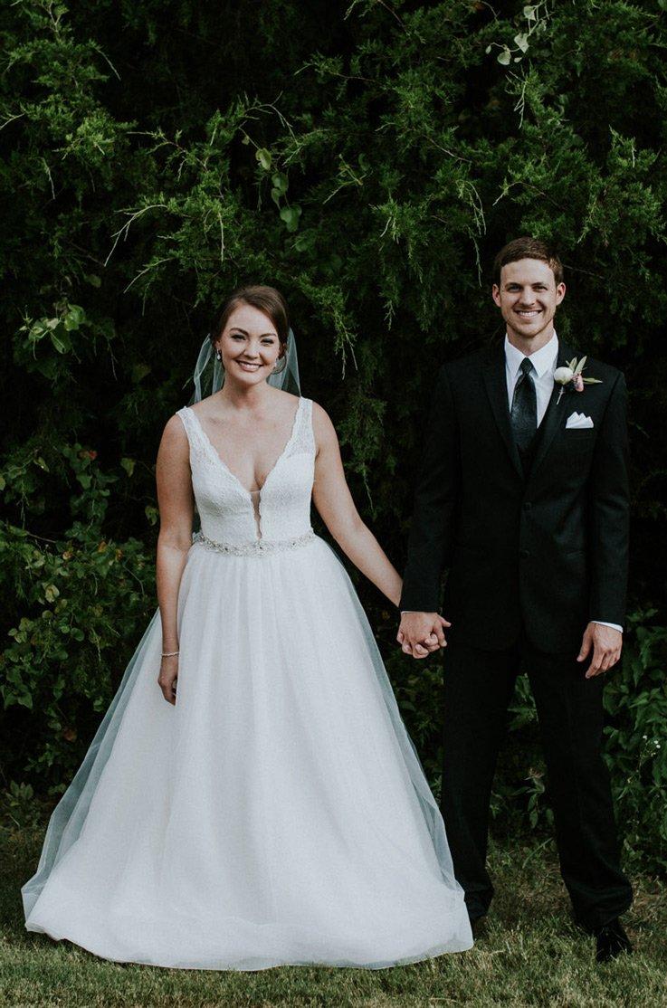Real Bride Grapevine, Texas - Kate & Alex | Mikaella Bridal