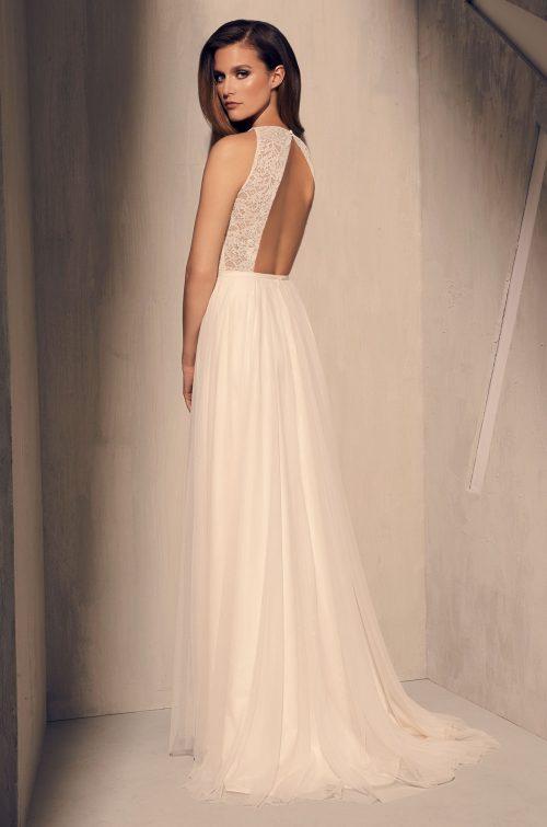Elegant Skirt Slit Wedding Dress - Style #2202 | Mikaella Bridal