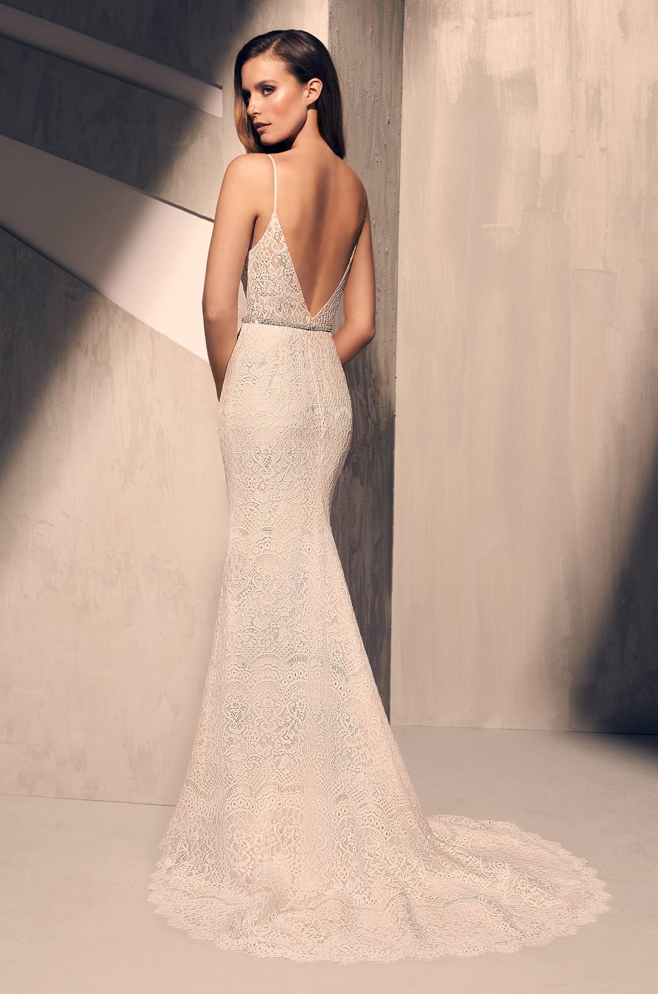 Ornate Lace Wedding Dress - Style #2215 | Mikaella Bridal