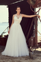 Lace Racerback Wedding Dress - Style #2187 | Mikaella Bridal